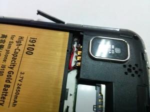 7. Припаиваем провода к смартфону